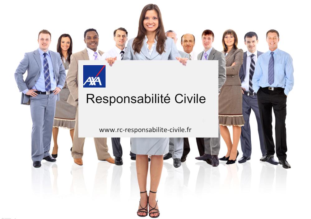 Responsabilité Civile AXA par professions
